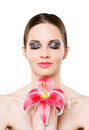 Beauty symmetry Stock Images