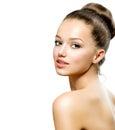 Beauty Teenage Girl Portrait Royalty Free Stock Photo