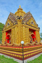 The beauty of Thai temples. Royalty Free Stock Image