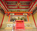 Beautyful Chinese shrine Royalty Free Stock Image