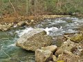 Beaverdam Creek at Backbone Rock Royalty Free Stock Photo