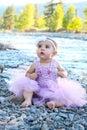 Bebê girl Fotos de Stock