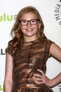 Bebe wood at the new normal at paleyfest saban theater beverly hills ca Stock Photography