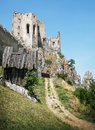 Beckov castle ruins, Slovak republic, Europe, travel destination