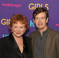 Becky ann baker and dylan baker actors arrive on the red carpet for the new york premiere of the third season of the hit hbo cable Stock Image