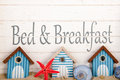 Bed breakfast alla costa Fotografia Stock