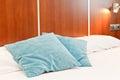 Bed Headboard Royalty Free Stock Photo