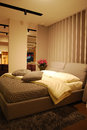 Bed room interior Royalty Free Stock Photo