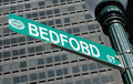 Bedford Street sign Boston Royalty Free Stock Images