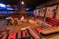 Bedouin camp in the Wadi Rum desert, Jordan, at night Royalty Free Stock Photo