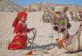 Bedouin_child Royalty-vrije Stock Fotografie