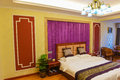 Bedroom of deluxe suites in hotel this is the a business Stock Photography