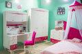 Bedroom for little princess with canopy