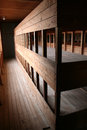 Beds at Dachau Stock Photos