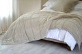 Bedspread Royalty Free Stock Photo
