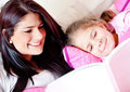 Bedtime story Royalty Free Stock Images