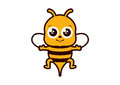 Bee cartoon images Royalty Free Stock Photo