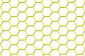 Bee Hive Background - Smaller Cells Royalty Free Stock Images