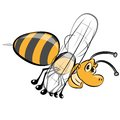 Bee icon Stock Photo