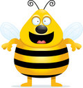 Bee Smiling Stock Photography