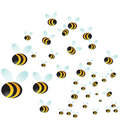 Bee Swarm Royalty Free Stock Image
