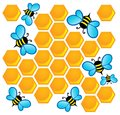 Bee theme image Stock Image