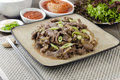 Beef Bulgogi Stock Photography