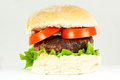 Beef Burger Royalty Free Stock Images