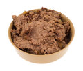 Beef Dog Food In Bowl