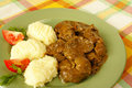 Beef kidney stew Royalty Free Stock Photo
