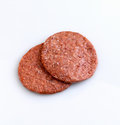 Beef patties Royalty Free Stock Photos