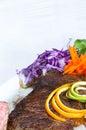 Beef ribeye steak Royalty Free Stock Photography