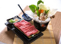 Beef Slices Hotpot Royalty Free Stock Photo