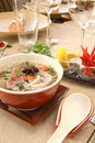 hot and spicy beef soup