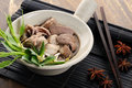 Beef Stew Noodle Soup Stock Images