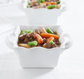 Beef stew pot roast Stock Image