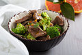 Beef stewed with broccoli Royalty Free Stock Photo