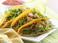 Beef taco meal Stock Photography