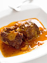 Beef tail oxtail stew Royalty Free Stock Photo