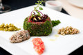 Beef tartar Royalty Free Stock Photos