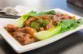Beef Tender Chinese food style Royalty Free Stock Photo