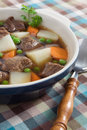 Beef Vegetable Soup Royalty Free Stock Photos