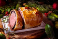 Beef wellington as advent creation a Stock Images