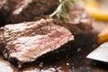 Beef on wood