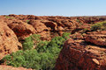 The beehive domes above Kings Canyon Royalty Free Stock Image