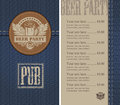 Beer bar Stock Images