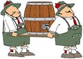 Beer Barrel Carriers Stock Photos