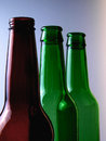 Beer Bottle Background Stock Images