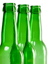 Beer bottle neck Stock Photography
