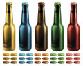 Beer Bottles Royalty Free Stock Images